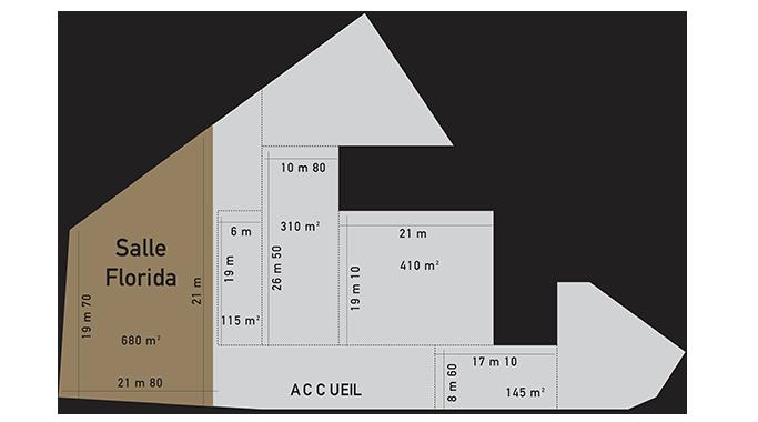 Plan salle a louer marseille florida