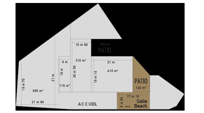 Plan salle beach florida palace
