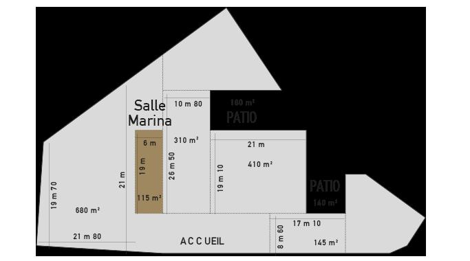 location salon prive marseille Florida palace