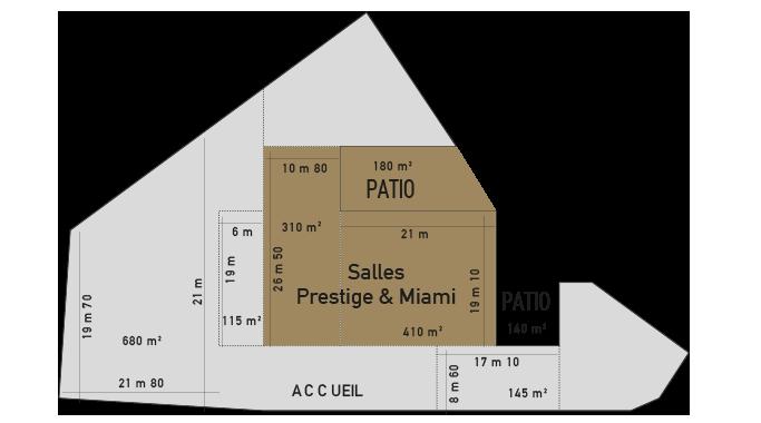 salle prestige et miami plan florida palace
