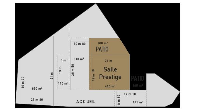 salle prestige Florida palace Plan